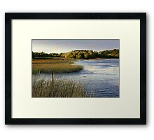 Brackley Lake - another view Framed Print