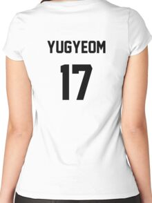 Got7 Yugyeom Jersey Women's Fitted Scoop T-Shirt