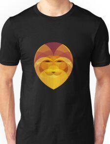Lion Head Geometric Unisex T-Shirt
