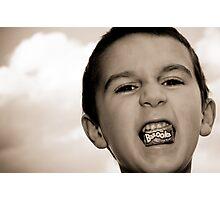 Bazooka Kid Photographic Print