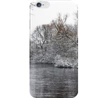 Winter On The Speed River iPhone Case/Skin