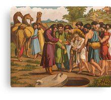 Joseph being sold by his Brethren. Canvas Print