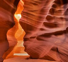 Antelope Canyon by Karl Lindsay