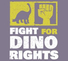 Fight For Dino Rights Kids Tee