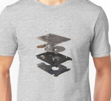 Exploded view harddisk Unisex T-Shirt