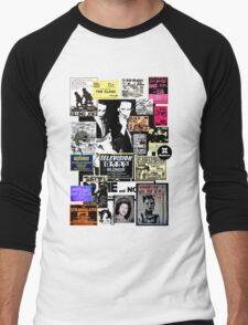 Punks are dead, not their music Men's Baseball ¾ T-Shirt