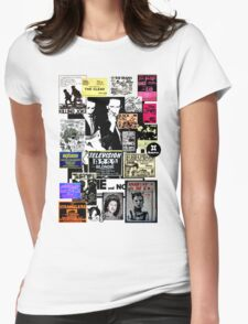 Punks are dead, not their music Womens Fitted T-Shirt