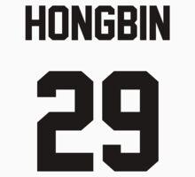 VIXX Hongbin Jersey by Nitewalker314