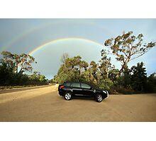 Bi-rainbow Photographic Print