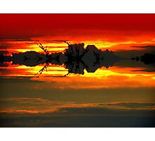 Red Heaven Photographic Print