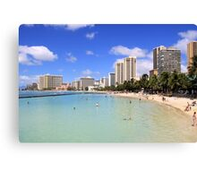 Gathering Place - Oahu Canvas Print