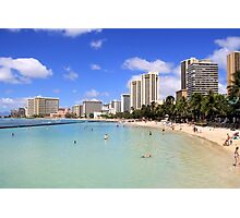 Gathering Place - Oahu Photographic Print