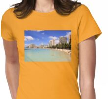 Gathering Place - Oahu Womens Fitted T-Shirt