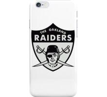 Oakland Raiders logo 3 iPhone Case/Skin