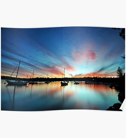 Woodford Bay - Lane Cove River Poster
