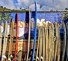 North Shore Surf Shop by DJ Florek