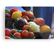 The Color of Fruit Metal Print