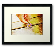Grungy Small Gifts Framed Print