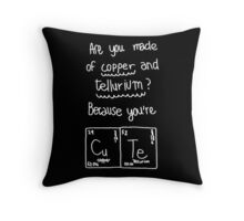 Life is Strange - Max's cute science note - White Throw Pillow