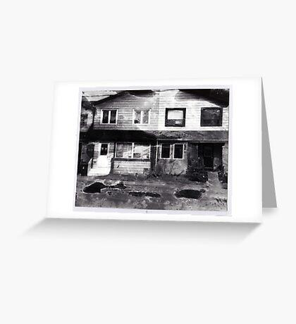 Abandoned House 1 Greeting Card
