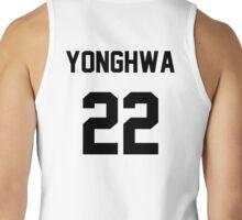 CNBLUE Yonghwa Jersey Tank Top