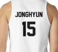 CNBLUE Jonghyun jersey Tank Top