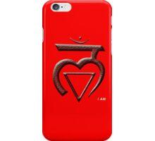 Root Chakra iPhone Case/Skin