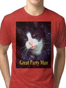 great Party Man  Tri-blend T-Shirt