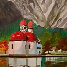 St. Bartolome'  Koenigsee  GERMANY by Marie Luise  Strohmenger