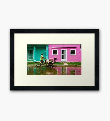 Tlacotalpan Framed Print