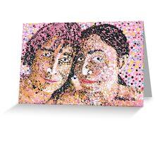 John and Yoko Greeting Card