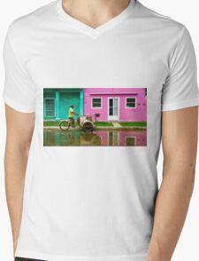 Tlacotalpan Mens V-Neck T-Shirt