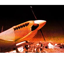 Achtung Spitfire! Photographic Print