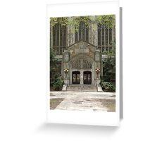 Ann Arbor Michigan Architecture Greeting Card