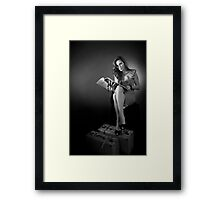 Fashionably Old Fashioned Framed Print