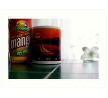Mango Juice   Art Print