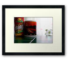 Mango Juice   Framed Print