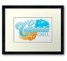 Disney World's California Grill Framed Print