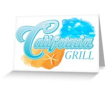 Disney World's California Grill Greeting Card