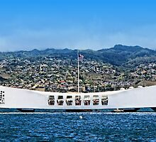 USS Arizona Memorial by DJ Florek