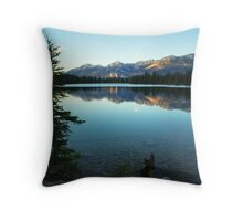 Lac Beauvert Throw Pillow