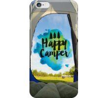 Happy Camper 1 iPhone Case/Skin