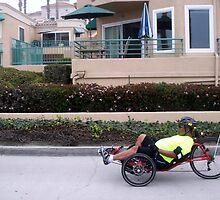 A funny three wheeled bike by daffodil