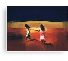 Forever Sisters 2 Canvas Print