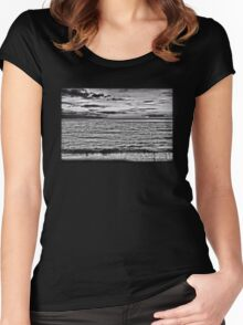 Serenity In Polynesia Women's Fitted Scoop T-Shirt