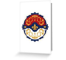 Ornate Pokeball Greeting Card
