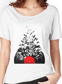 Vinyl shatter Women's Relaxed Fit T-Shirt