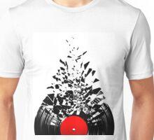 Vinyl shatter Unisex T-Shirt