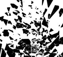 Vinyl shatter Sticker