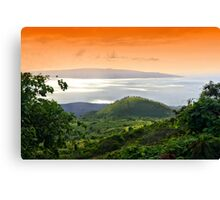Stunning Upcountry View Canvas Print
